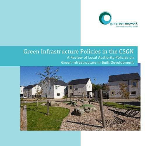 Green infrastructure policies in the CSGN