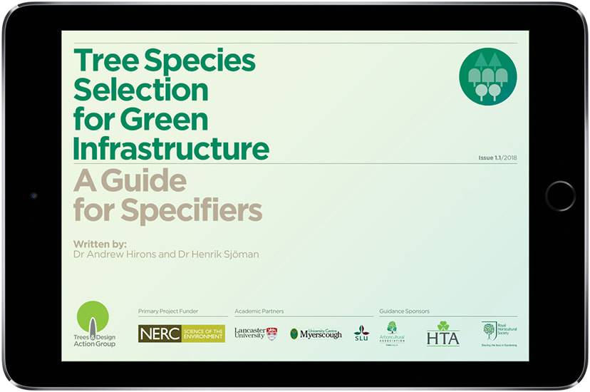 Tree species selection for green infrastructure